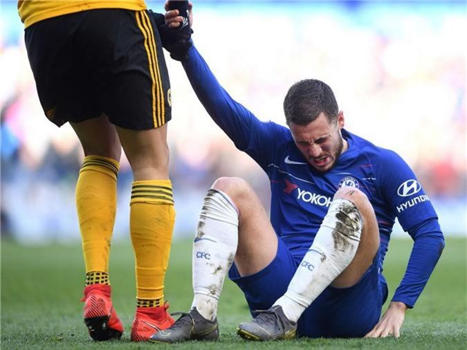 Hazard đã bị các đội ngăn chặn thế nào ở Chelsea thông qua chỉ số phạm lỗi đáng kinh ngạc?