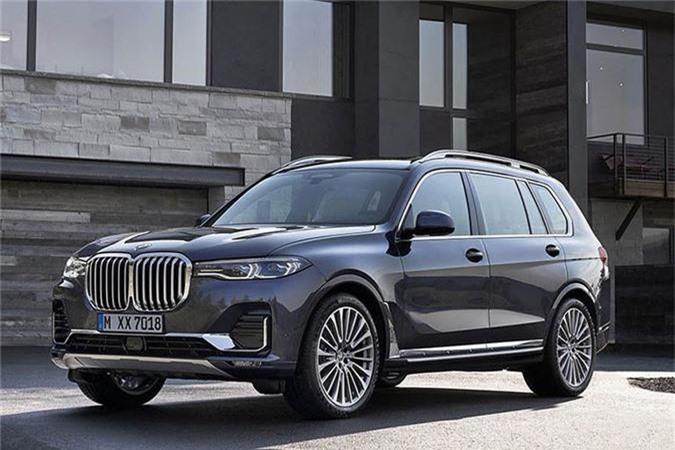 BMW X7 2019.