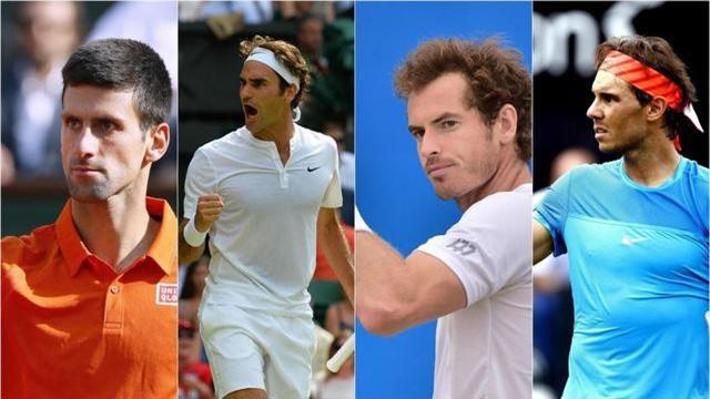 Các tay vợt trẻ đang ngày càng trở thành đối trọng với Big Four.