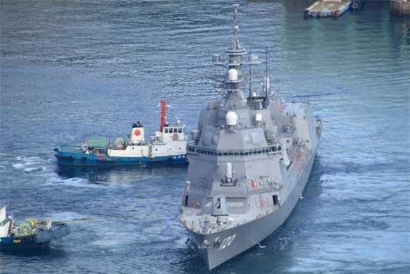 Cách đây đúng một năm, vào tháng 3/2018 khu trục hạm Asahi đầu tiên của Lực lượng Phòng vệ Trên biển Nhật Bản đã được nhập biên lực lượng này. Phía Nhật chỉ có kế hoạch đóng mới tối đa hai khu trục hạm lớp này, tuy nhiên điều này có thể sớm thay đổi trong tương lai. Nguồn ảnh: Pinterest.