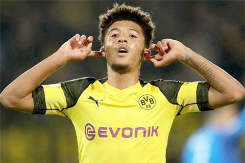 1. Jadon Sancho (Dortmund).