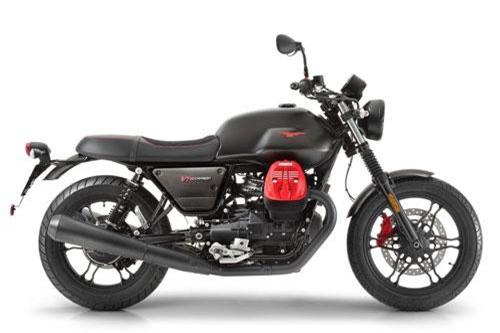 Moto Guzzi V7 III Carbon 2019.