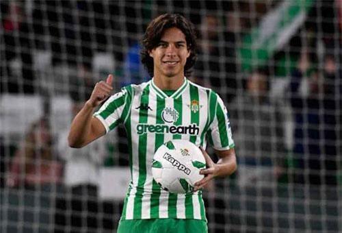 8. Diego Lainez (Real Betis).