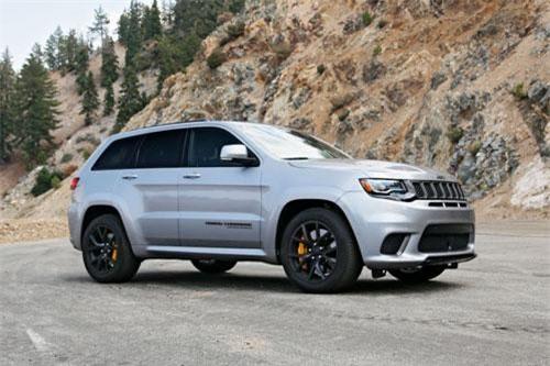 Jeep Grand Cherokee Trackhawk 2019.