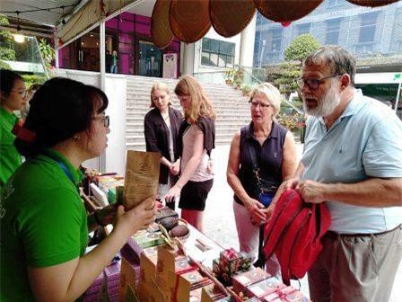 Sự kiện thu hút nhiều du khách nước ngoài.