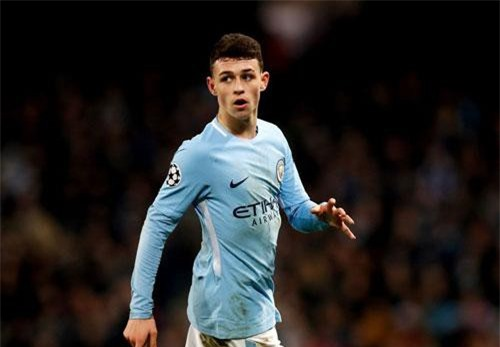 4. Phil Foden (Man City).