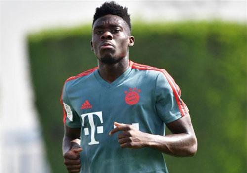6. Alphonso Davies (Bayern Munich).