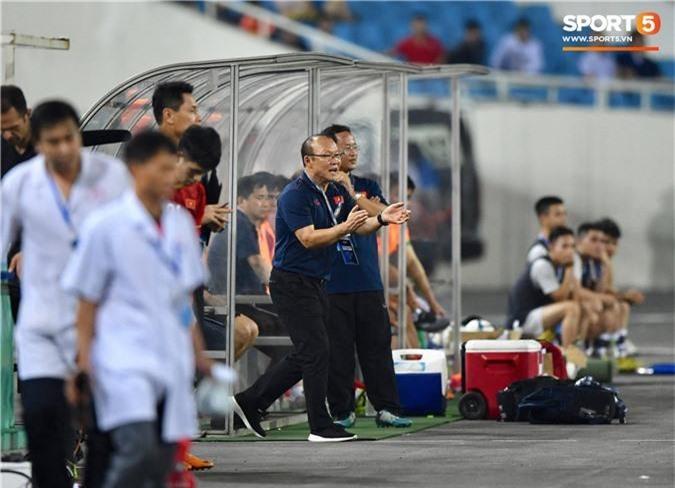 HLV Park Hang-seo hài lòng với chiến thắng đậm trước U23 Brunei - Ảnh 1.