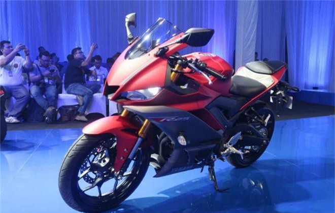 2019 Yamaha YZF-R25.