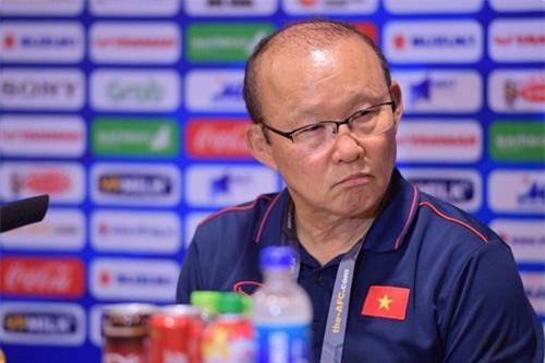 HLV Park Hang-seo không hài lòng với chiến thắng của U23 Việt Nam.
