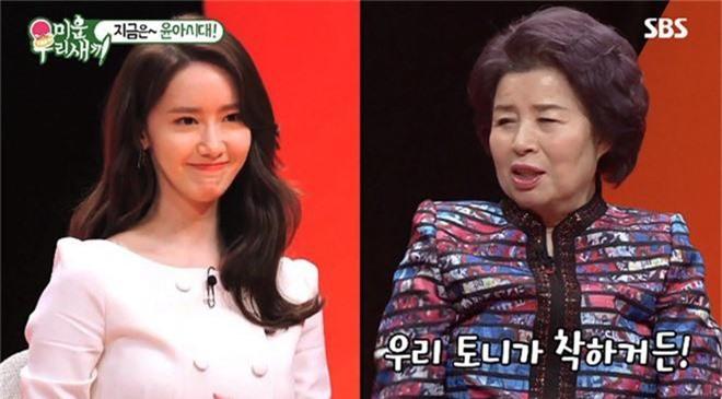 Được mẹ nam ca sĩ hơn 12 tuổi hỏi làm con dâu ngay trên truyền hình, Yoona phản ứng ra sao mà gây bão mạng? - Ảnh 2.