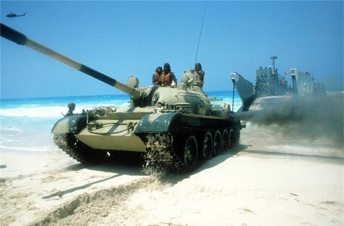 "Ngac nhien chiec xe tang T-55 ""Made in USA""-Hinh-4"