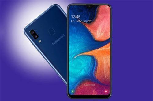 Samsung Galaxy A20.