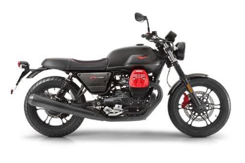 1. Moto Guzzi V7 III Carbon Dark (giá khởi điểm: 11,275 USD).