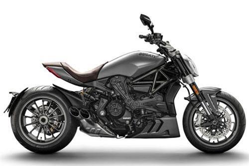2. Ducati XDiavel Matt Liquid Concrete Grey (giá khởi điểm: 24,101 USD).
