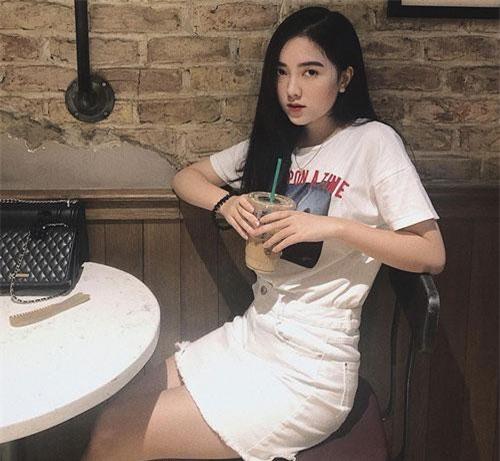Cô gái đến từ Bắc Giang này khá kín tiếng trên mạng xã hội.