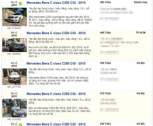 Hàng loạt xe sang qua sử dụng ít năm được rao bán chỉ bằng giá xe cỏ - 3