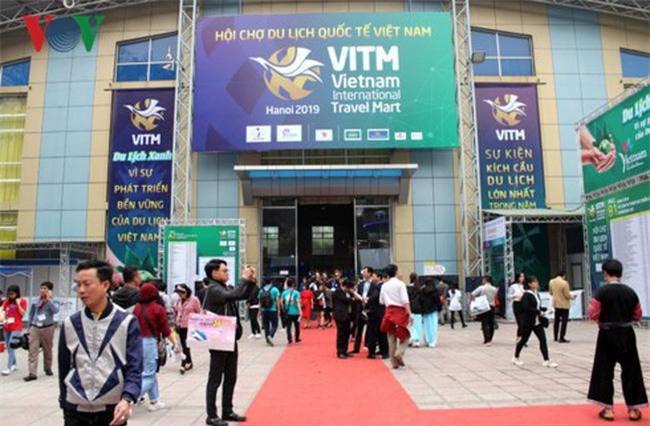 Hội chợ Du lịch quốc tế Việt Nam (VITM 2019) diễn ra tại Cung Văn hóa Hữu Nghị từ ngày 27-30/3/2019. Ảnh: Dân trí