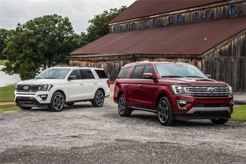 10. Ford Expedition 2019.