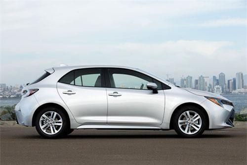=3. Toyota Corolla Hatchback (mức tiêu hao nhiên liệu: 7,8 lít/100 km).