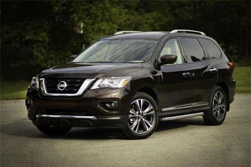 8. Nissan Pathfinder 2019.