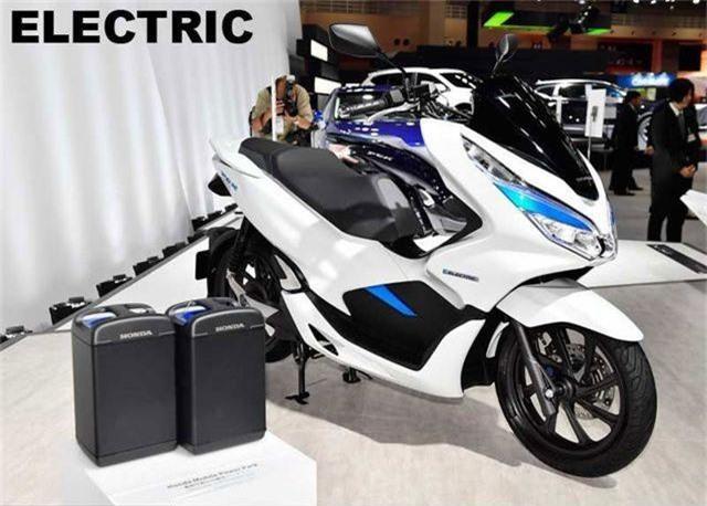 Honda PCX Electric.