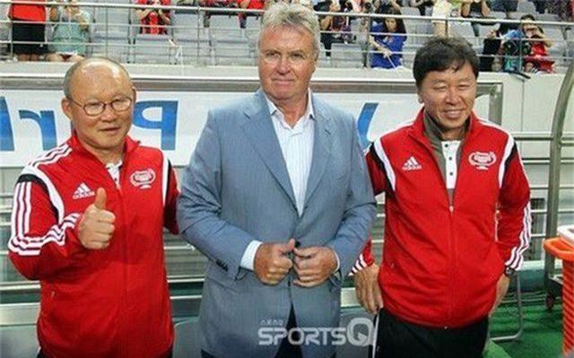 Báo Hàn Quốc mong HLV Hiddink tái ngộ thầy Park ở giải U23 châu Á - 1