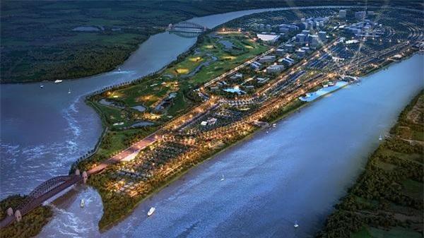 Phối cảnh dự kiến Khu đô thị Nam Long Đại Phước.