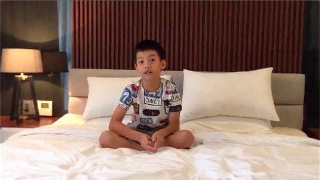 Cường Đô la tự hào khoe clip con trai Subeo mới 9 tuổi đã bắn tiếng Anh như gió - Ảnh 3.