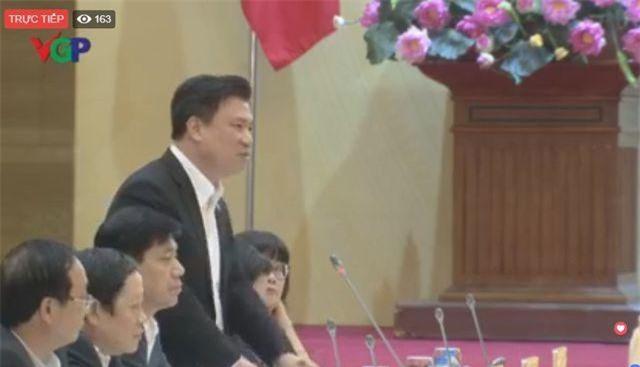 Thứ trưởng Bộ GD-ĐT Nguyễn Hữu Độ. (Ảnh: VGP)
