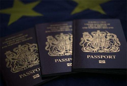 EU cam kết miễn thị thực ngắn hạn cho công dân Anh. (Nguồn: CNN)