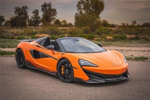 McLaren 600LT Spider 2020.