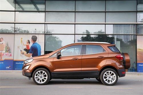 Ford EcoSport cạnh tranh trực tiếp với đối thủ Hyundai Kona