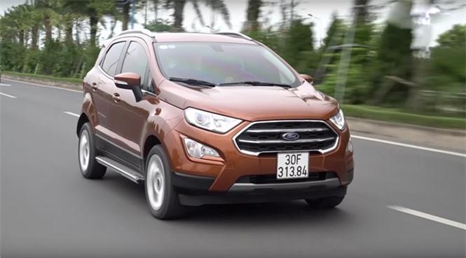 Mẫu SUV đô thị cỡ nhỏ Ford EcoSport.