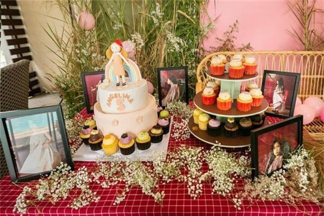 Con gái Đoan Trang xinh như thiên thần trong tiệc sinh nhật lộng lẫy mừng 5 tuổi - Ảnh 2.