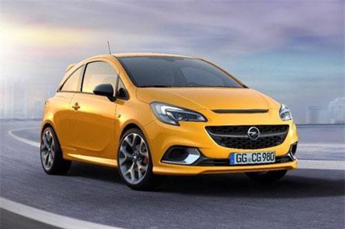 2. Opel Corsa (doanh số: 17.647 chiếc).