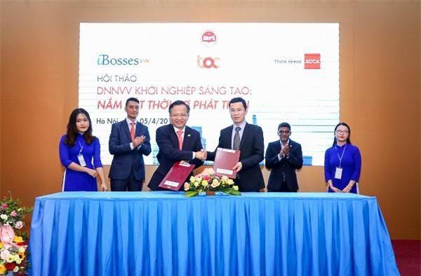 Lễ công bố Dự án thí điểm phát triển Hệ sinh thái khởi nghiệp dành cho các SME Việt Nam