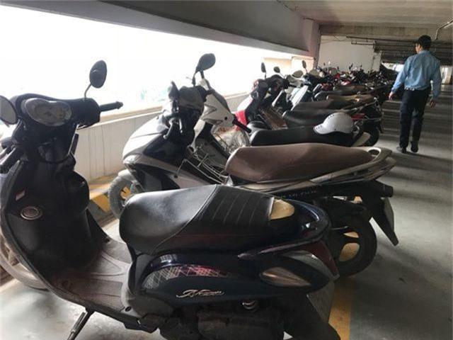 Hà Nội: Hàng loạt xe máy trong khu chung cư bị rạch nát yên - 9