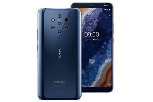 Về thiết kế, Nokia 9 PureView sử dụng khung viền bằng kim loại, 2 bề mặt phủ kính cường lực Corning Gorilla Glass 5. Máy có số đo 155x75x8 mm, cân nặng 172 g.