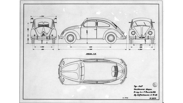 Chiếc VW Beetle độc nhất vô nhị do Porsche thiết kế và sản xuất - 1