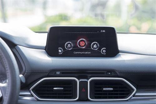 Hệ thống giải trí Mazda Connect trên Mazda CX-5