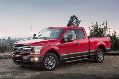 1. Ford F-Series (doanh số: 214.611 chiếc).