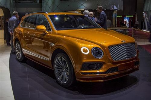 Bentley Bentayga Speed 2020.