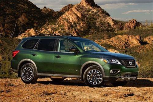 6. Nissan Pathfinder.