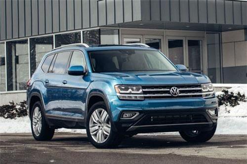 9. Volkswagen Atlas.