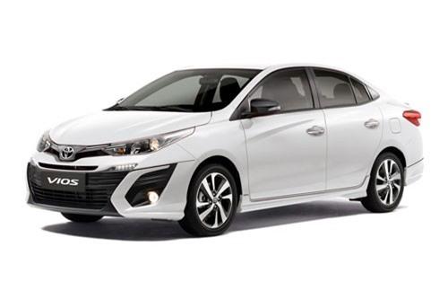 1. Toyota Vios (doanh số: 3.161 chiếc).