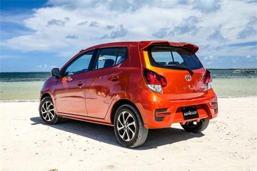 7. Toyota Wigo (doanh số: 1.152 chiếc).