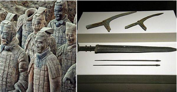Bí ẩn thanh kiếm ngàn năm sắc lẹm trong mộ Tần Thủy Hoàng - ảnh 7