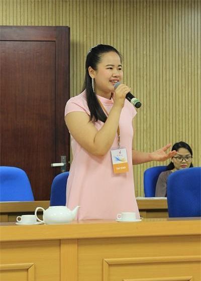 Thí sinh Lê Hương Giang