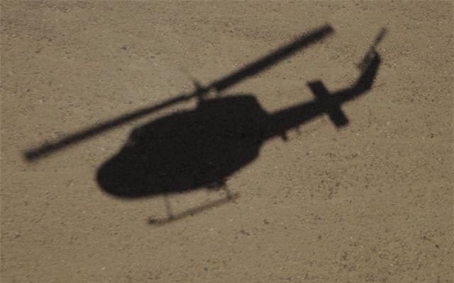 Trực thăng Iran rơi